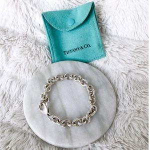 Tiffany & Co. Sterling Silver Round Link Bracelet